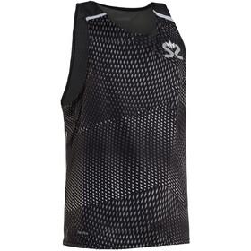 Salming Breeze - Camiseta sin mangas running Hombre - blanco/negro